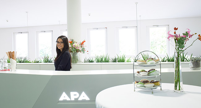 Foyer APA-Pressezentrum