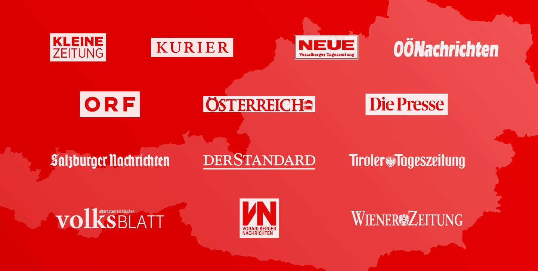 Übersicht der Eigentümer der APA - Austria Presse Agentur