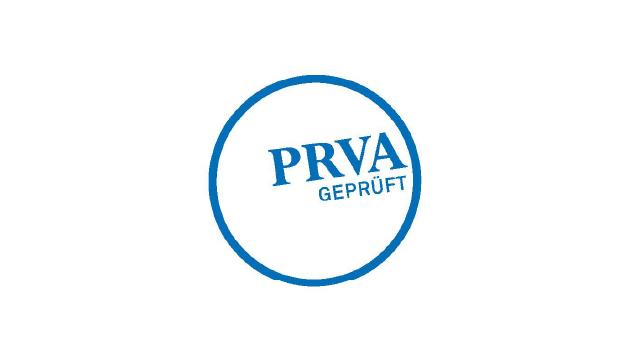 Logo PRVA geprüft