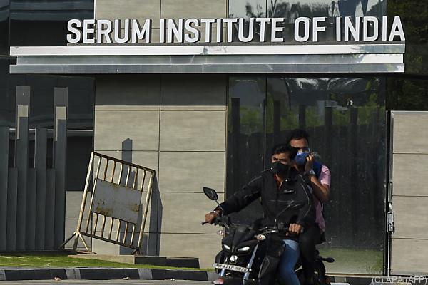 Auf dem Bild sieht man das Serum-Institut von Indien.