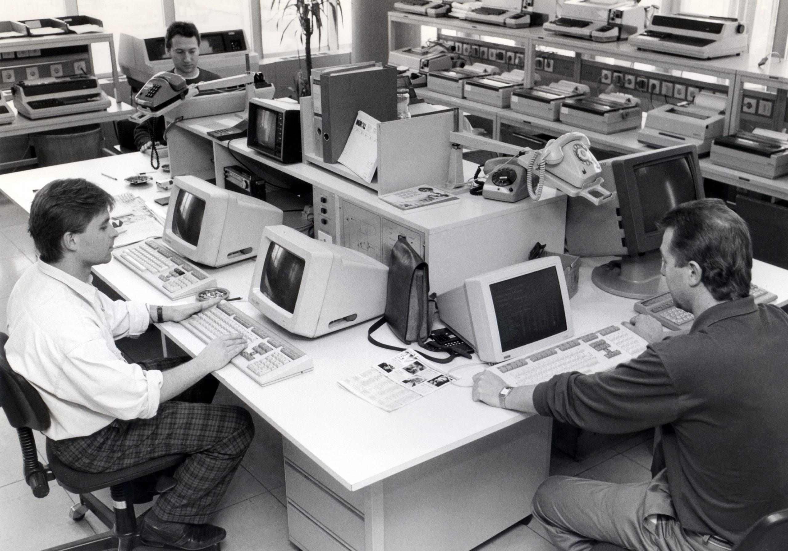 APA-Rechenzentrum 1988