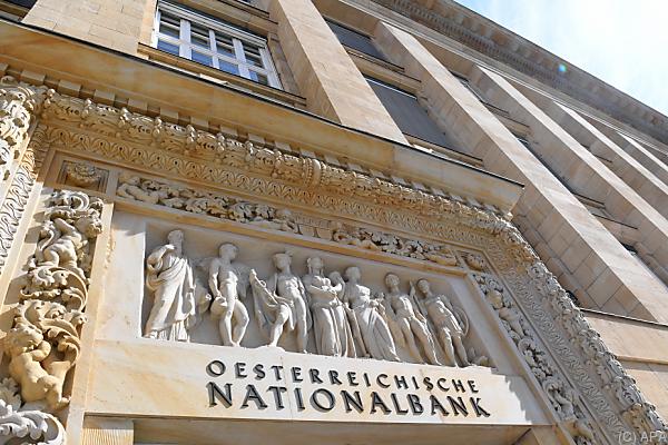 Auf dem Foto sieht man das Gebäude der Oesterreichischen Nationalbank.