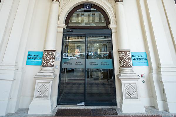 Auf dem Bild sieht man die ÖVP-Zentrale in Wien.